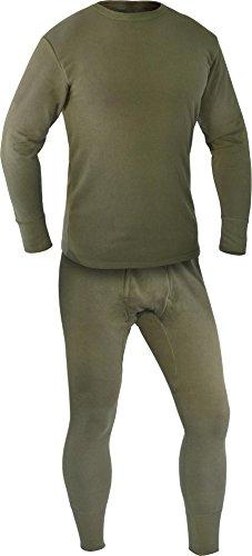 Original Bundeswehr Set (Unterhemd + Unterhose) Plüsch nach TL Größe 9