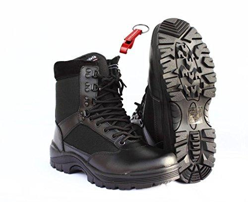 Security Swat Boot Einsatzstiefel 45 + AOS-Outdoor® Schlüsselanhänger