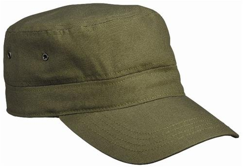 Army Military Cap im Kuba Castro Look in Oliv OLIV