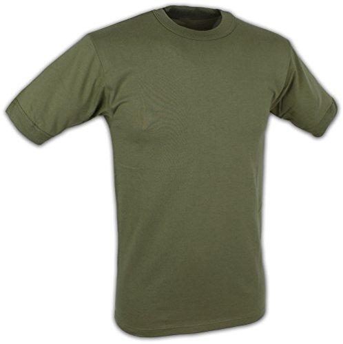 BW Unterhemd T-Shirt aus sehr atmungsaktivem Material Oliv 6 / L