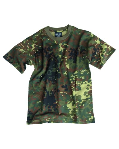 T-Shirt Kids flecktarn 140