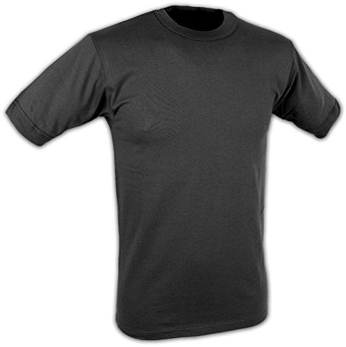 Original Unterhemd T-Shirt der Deutschen Bundeswehr Unterziehhemd in verschiedenen Größen Schwarz 6 / L