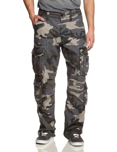 Surplus Airborne Herren Cargo Hose, nightcamo, XL