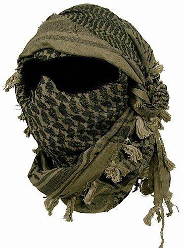 Miltec Shemagh Keffieh Cheche US Army, palästinensisches Halstuch, Airsoft, Paintball, Outdoor