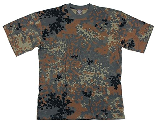 US Army T-Shirt flecktarn XS-XXL XL XL,flecktarn/BW camo