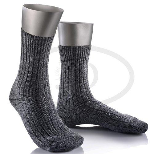Bundeswehr Socke kurz (42/43, Mittelgrau)