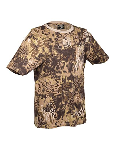 T-Shirt tarn mandra tan Gr.XXL