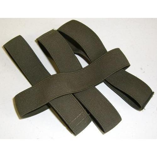 10 Stück BW Hosengummi Beingummi Bundeswehr Neu Hosenband Krempelgummi