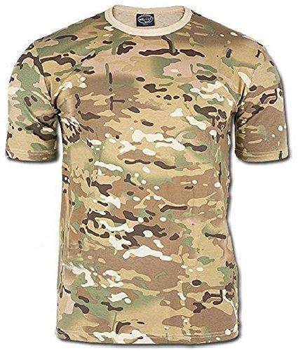 Mil-Tec T-Shirt Tarn, multitarn (L)