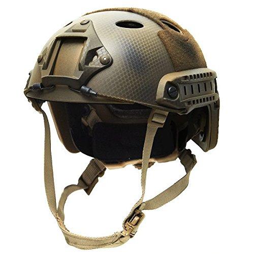 MICH FAST HELM US SEALS Tactical PLATE AIRSOFT Gefechtshelm KSK Army Bundeswehr Paintball Kommando Softair OPS Ausrüstung #17987