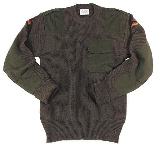 ORIG. Bundeswehr Pullover Wolle oliv 48-62 48
