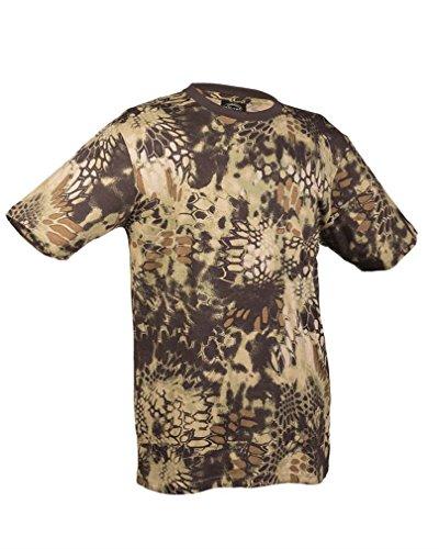 T-Shirt tarn mandra wood Gr.XXL