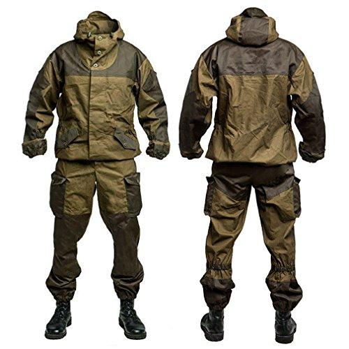 GORKA-3 BARS Echte russische Armee-Spezialmilitär BDU Uniform Camo Jagd-Klage