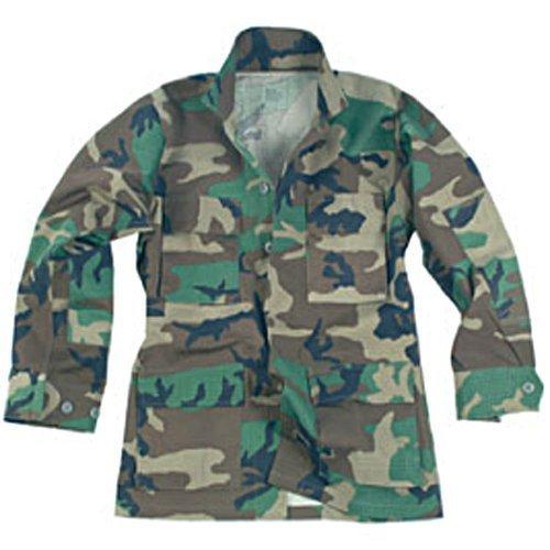 Mil-Tec BDU Combat Hemd Woodland Größe XXL