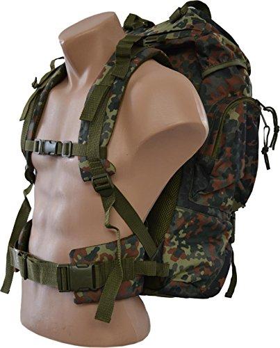 Tactical Rucksack, 65 Liter, Flecktarn