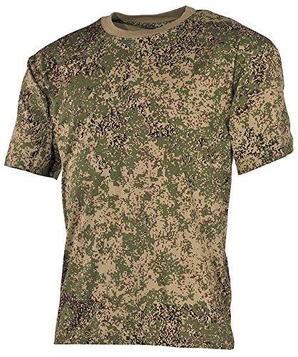 US T-Shirt halbarm russisch digital 170g/m² Größe XXL