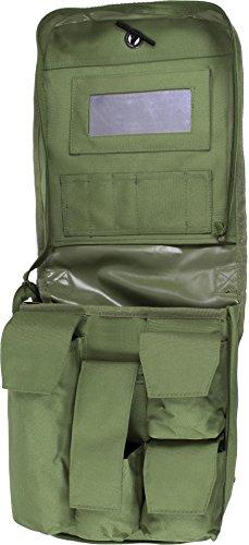 BW Waschzeugtasche mit Spiegel Kulturbeutel zum Aufhängen Farbe Oliv