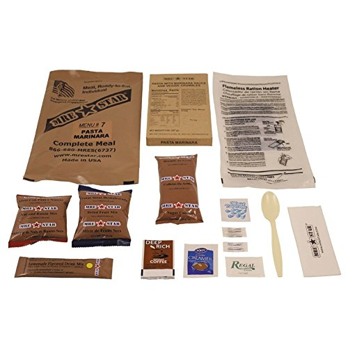 Original US Army Food MRE Ready-to-Eat BW Notration Menü:7